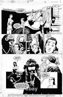100 Bullets Page 17 Issue 30 By Eduardo Risso Brian Azzarello Dizzy Cordova