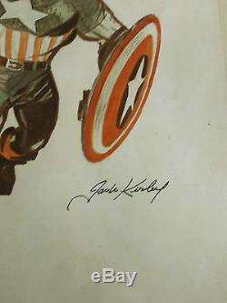 1969 Captain America by Jack Kirby # 109, Provenance-No. Res. Auction