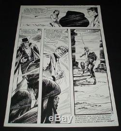 1970 JIM APARO Phantom Stranger #10 page 10 Original Comic Art with Dr Thirteen