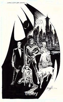 1992, Norm Breyfogle, Batman Shadow Of The Bat, Promotional Artwork