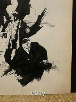1993 Prato Review Catalog Cover Mike Mignola Original Art Bram Stoker's Dracula