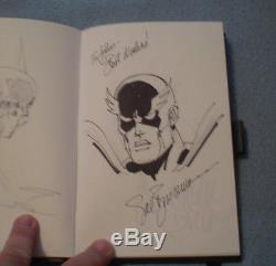 20 Original Comic Convention Sketches in book, Mignola, Pope, Larsen, Deodato