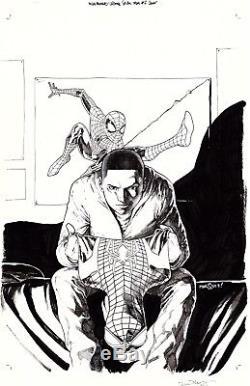 2014, David Marquez, Miles Morales Ultimate Spider-man #2 Cover Original Art