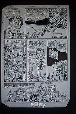 3 Consecutive HULK #292 Original Art pages by SAL BUSCEMA & JOE SINNOTT