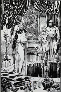 A Gorgeous Conan Page by John Buscema and Alfredo Alcala