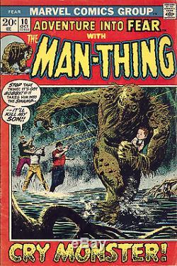 ADVENTURE INTO FEAR #10 PG 22 ORIGINAL Comic ART Bill EVERETT Jack KATZ