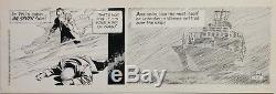 AL WILLIAMSON Secret Agent Corrigan (Dec 8, 1979) Exceptional 2-panel strip