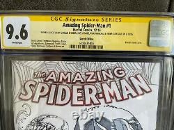 AMAZING SPIDER-MAN #1 Jam Sketch Original Art CGC 9.6 Tyler Kirkham