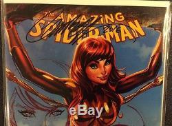 AMAZING SPIDER-MAN 15 Variant J SCOTT CAMPBELL original art REMARQUED Mary Jane