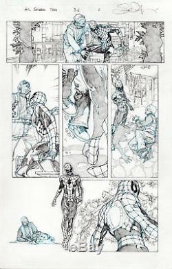 AMAZING SPIDER MAN #3.1 page 3 SIMONE BIANCHI ORIGINAL COMIC ART