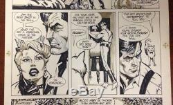 AMERICAN FLAGG #3 Page 3 Original Comic Book Art HOWARD CHAYKIN Hard Times