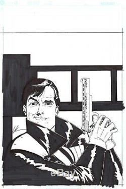 AMERICAN FLAGG by HOWARD CHAYKIN. SIGNED. PUBLISHED COVER
