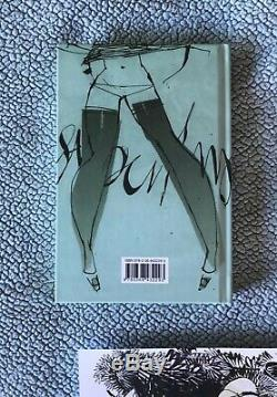 ASHLEY WOOD Original Art + FAW PELICAN Book SIGNED & NUMBERED HC 7174 3A sketch