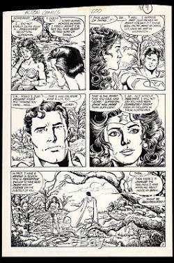 Action Comics #600 Art John Byrne George Perez Superman Romances Wonder Woman