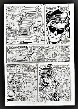 Action Comics #626 Page 9 Original Art Green Lantern Hal Jordan In Every Panel