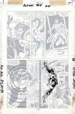 Action Comics #707 p 15, Jackson Guice, DC, 2nd Shadowdragon, Superman, 1995