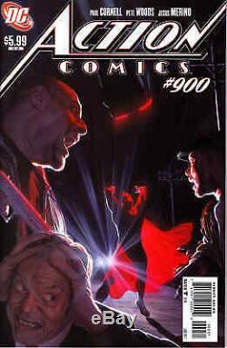 Action Comics #900 Original Cover Art Alex Ross Action Comics #1 Cvr Swipe
