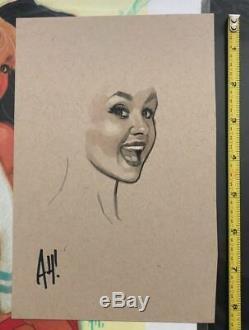 Adam Hughes Original Cover Art Betty Veronica Sketch Mignola Jim Lee Mcfarlane