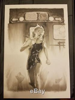 Adam Hughes original cover art Fairest #26
