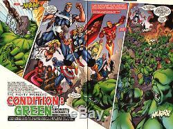 Alan Davis 2001 Avengers Dps Art-cap, Thor, Iron Man, Hulk, Vision-free Shipping
