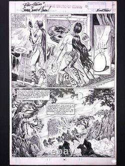 Alcala Savage Sword Of Conan #174 Pg 19 ORIGINAL ART Marvel 1990