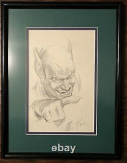 Alex Ross Green Goblin Original Art Sketch 1994 Marvel Spider-Man