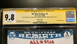 All Star Batman #1 CGC 9.8 SS Signed FRANK MILLER & BRUCE TIMM BATMAN SKETCH Art
