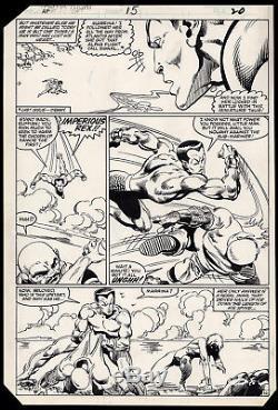 Alpha Flight #15 Art by John Byrne Sub-Mariner