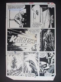 Amazing Spider-Man #228 MARVEL 1982 (Original Art) Page 20 by Rick Leonard