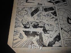 Amazing Spider Man #272 Original Art Sal Buscema 7 Panel Nostalgic Page