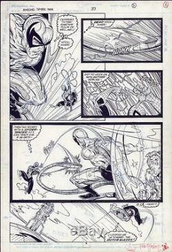 Amazing Spider-Man #319 pg 5 Todd Mcfarlane