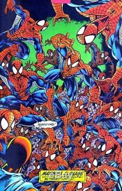 Amazing Spider-Man #404 p. 30 Mark Bagley Original Comic Book Art OA 1995 Splash