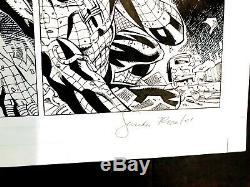 Amazing Spider-Man V2 #28 pg 15 Original Art Joe Bennett + Sandu Florea 04/2001