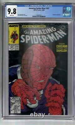 Amazing Spider-man #307 Cgc Graded 9.8 Marvel Comic Book