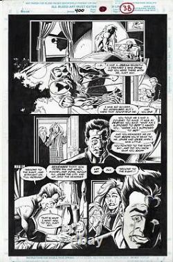 Amazing Spider-man # 400 Page 38 Death Of Aunt May Page Mark Bagley 1995