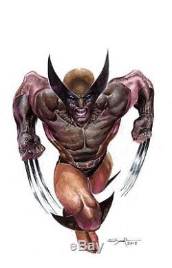 Ardian Syaf Wolverine original art Marvel X-men