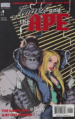 Arthur Adams Original Comic Art Angel And The Ape Four Cover Prelim Designs