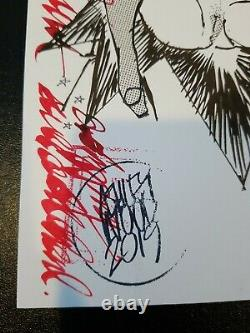Ashley Wood Original Art 7174 3A Signed Pelican LAE Book