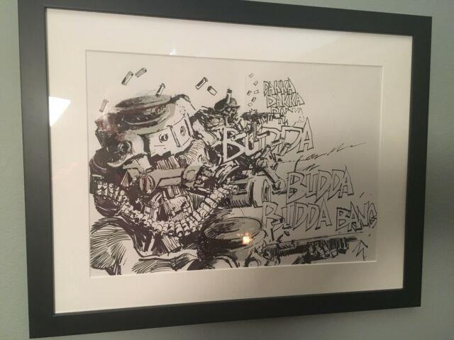 Ashley Wood Wwr Original Published Comic Art 7174 3a Adventure Prelude 2-pages