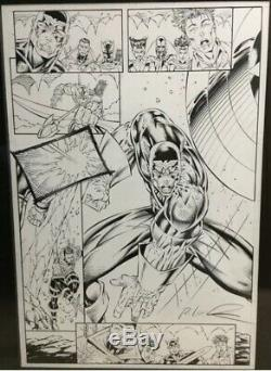 Avengers #1 Captain America Heroes Reborn Rob Liefeld Art Page