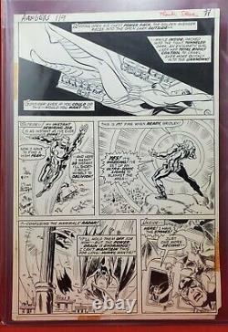 Avengers #119 Original Art