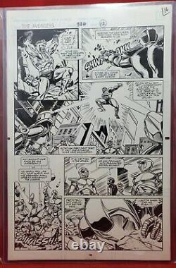 Avengers #336 Pg 16 Original Art