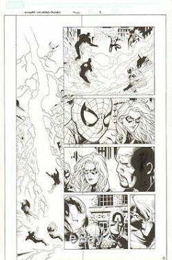 Avengers Children's Crusade #2 p. 9 Spider-man Ms. Marvel Nick Fury by Jim Cheung