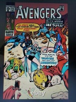 Avengers comic #83 original art by john buscema front cover marvel
