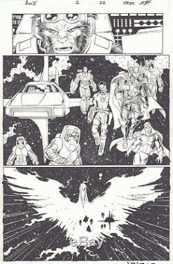 Avengers vs. X-Men #2 p. 22 Beats, Iron Man, Thor & Vision art by John Romita Jr
