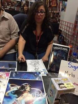 BATMAN #50 Comic MIRKA ANDOLFO Orignal Catwoman SKETCH & SIGNED CGC Graded 9.8