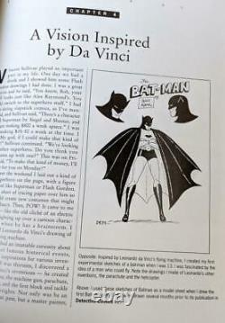 BATMAN And Me Signed HC Bob Kane Hand Drawn/Autographed Sketch #817/1000! D