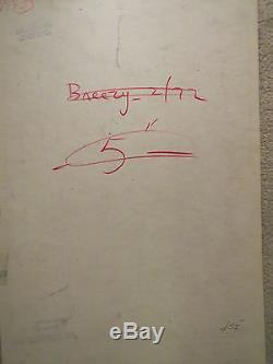 Bill Ward Original Signed Very Rare Color Humorama Sexy Good Girl Art Conte