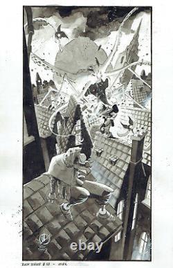 BLACK SCIENCE #18 Original Cover Art by Matteo Scalera! Remender Image book