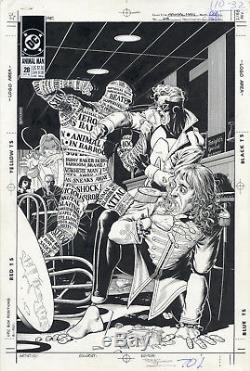 BRIAN BOLLAND Animal Man #28 Original Cover Artwork=1 of the Best! Free Shipping